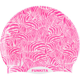 Funkita Silicone Swimming Cap, painted pink
